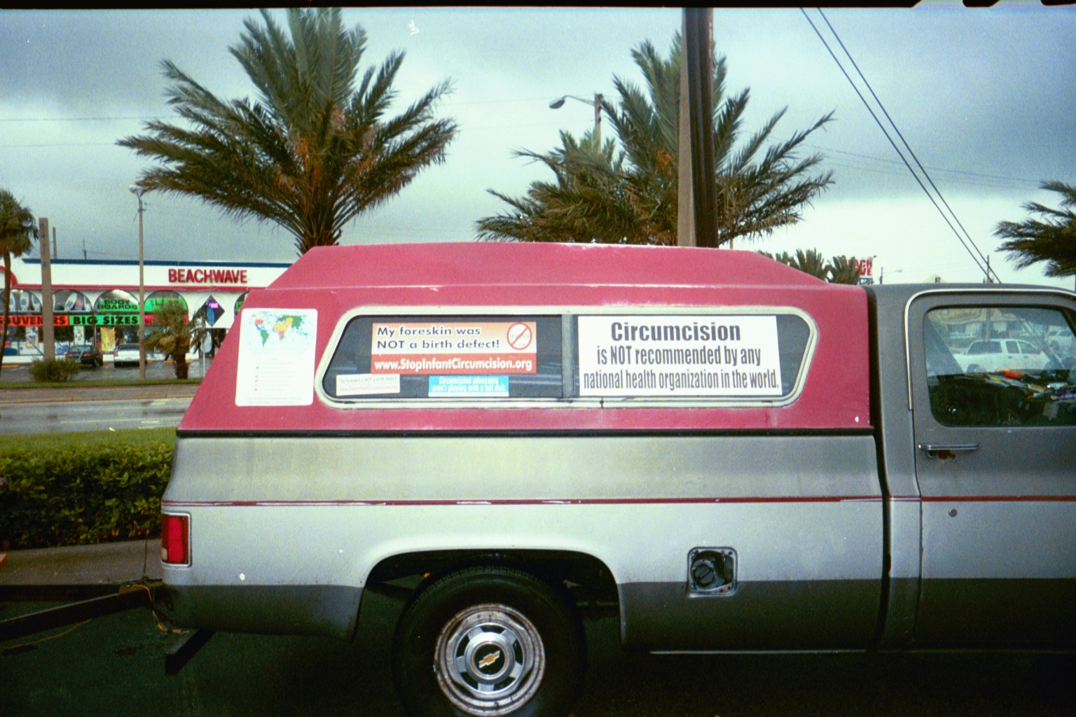 the first SICSOCIETY truck